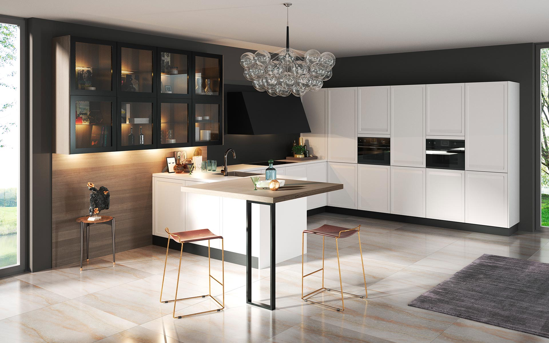 k chendesign fontaine k che auf den punkt gebracht home. Black Bedroom Furniture Sets. Home Design Ideas
